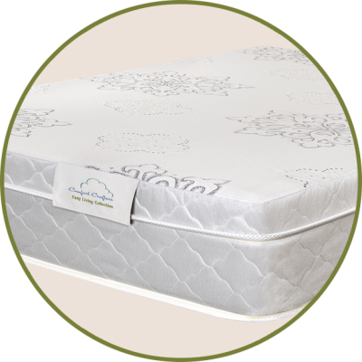 Alpine AirFeatures gel-infused memory foam for added coolnessFor customers who want the feel of memory foam with the durability of an inner-spring mattressComfort type: Intermediate