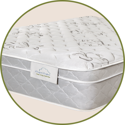 "Danube Dream1½"" quilted foam4"" of super-firm foam for added supportFor customers seeking a super-firm mattressComfort type: Firm"