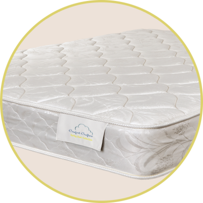 "Harmony  1"" quilted foam For customers seeking a firm mattress Comfort type: Firm"