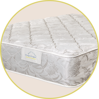 "Nocturne (Firm)  1½"" quilted foam 2"" foam for added comfort and support Comfort type: Firm"